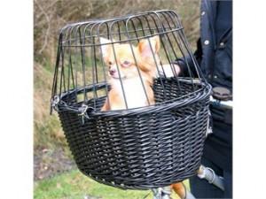 HUNDECYKELKURV MED GITTER (Foto: Petworld.dk)